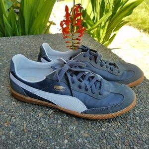 PUMA Super Liga - navy - US 8.5 EU 41